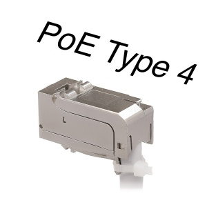 Keystone Jack HD 90, Category 6A, RJ45/s