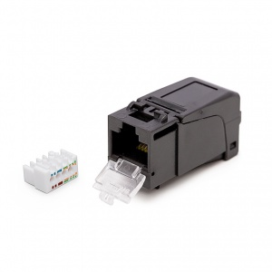 Keystone Jack HD, Category 6, RJ45/u