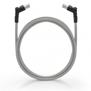 Patch cable S/FTP, Category 6A, PUR