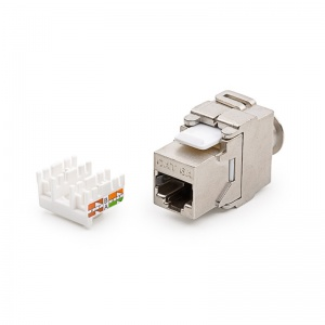 Keystone Jack, Category 6A, RJ45/s