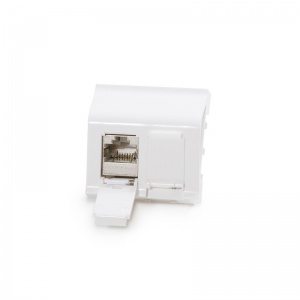 Legrand® MosaicTM compatible outlet module Category 6A, 2xRJ45/s, keystones included