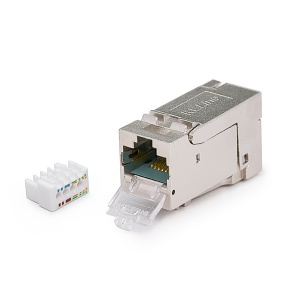 Keystone Jack HD, Category 6, RJ45/s