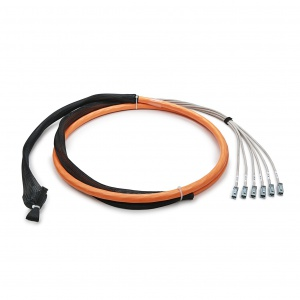 Trunk cable /jack-jack/ STP 6x4x2xAWG23, Category 6A, 500 MHz, LSOH