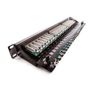 Patch panel KOMPAKT, Category 5E, 24xRJ45/s